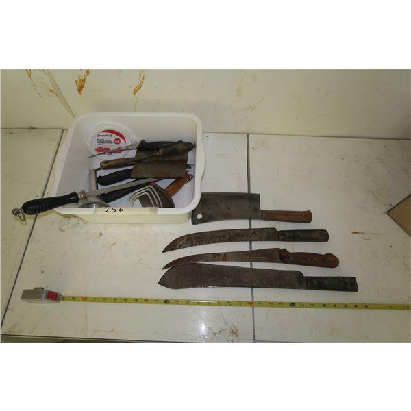 Lot Butcher Tools