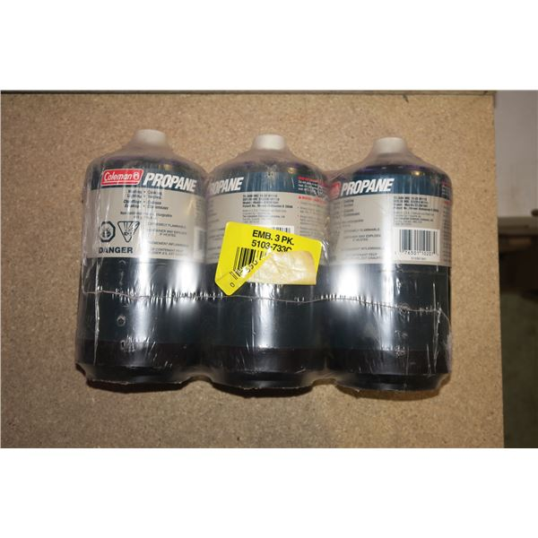 3 Camp Propane Cylinders (New)
