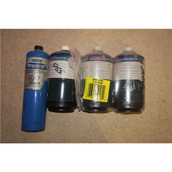 4 Camp Propane Cylinders