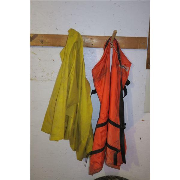 Chainsaw Chaps + Rain Coat