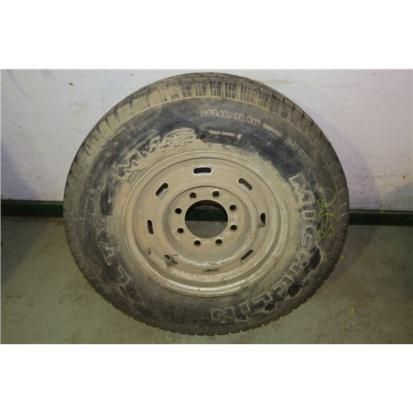 Tire & Rim 245/75/r16, 10 Bolt rim