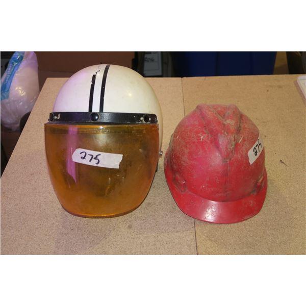 Vintage Helmet + Hardhat