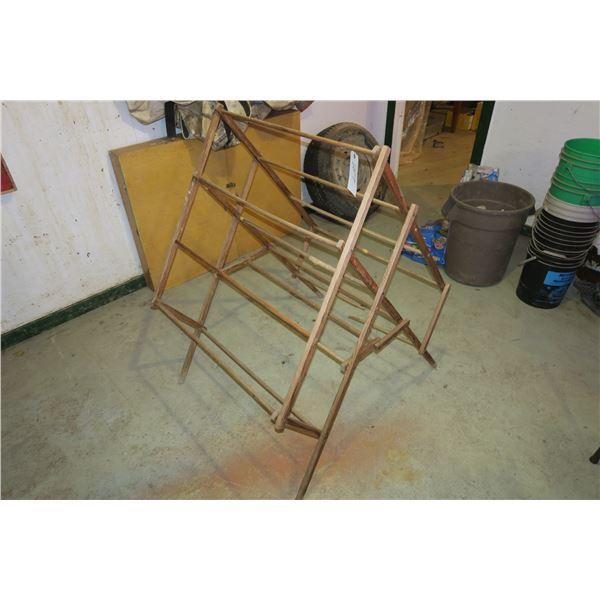Vintage Drying Rack (Damaged) 34×48