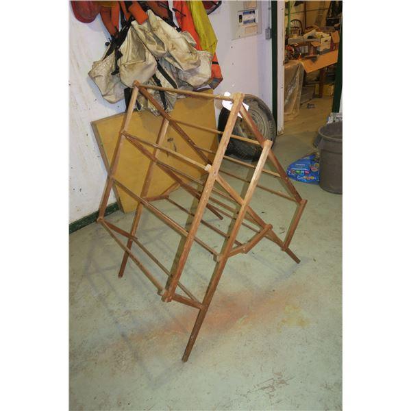 """Vintage Drying Rack 34""""×48"""""""