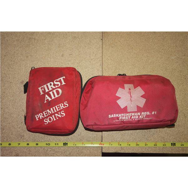 2× First Aid Kits