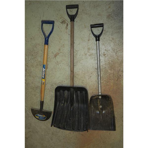2 Shovels + Turf Edger
