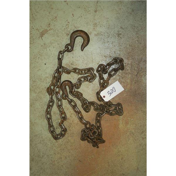 Chain w/ Hooks