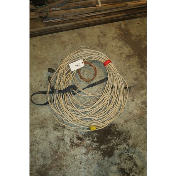 Lot electrical Wire w/ Plug ends