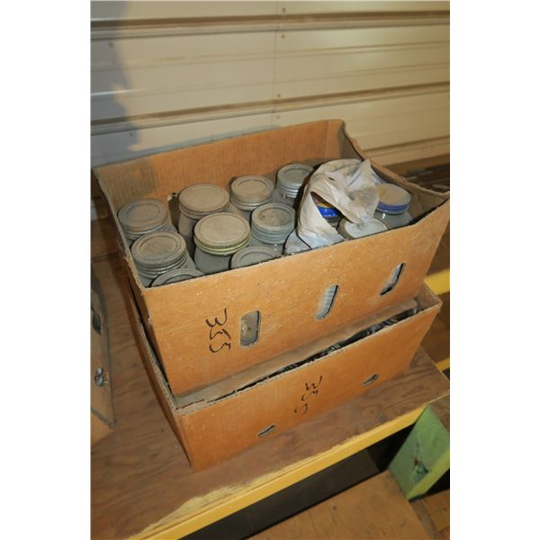 Lot 2 Boxes misc. size sealers