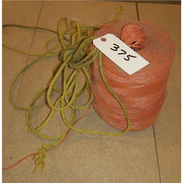 Roll of twine + Rope