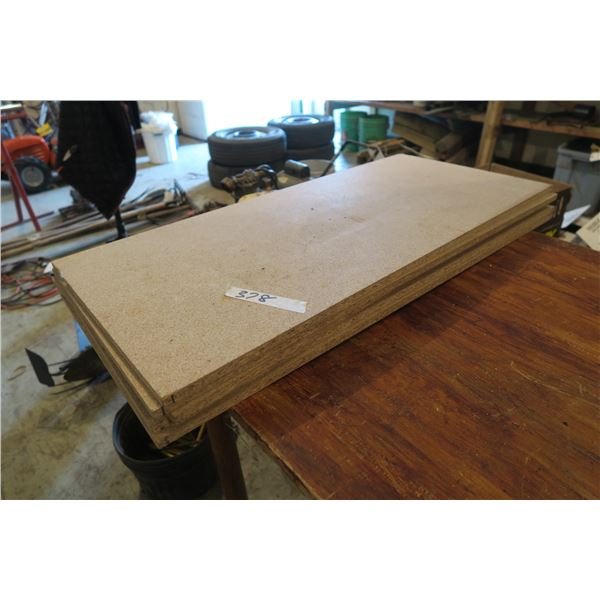 """Lot of Chip Board 35""""×15""""×½"""""""