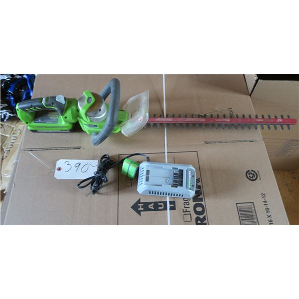 Cordless Hedge Trimmer w/ Charger