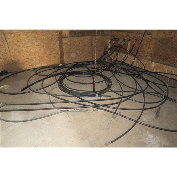 Lot irrigation/Hose +Sprinkler Heads
