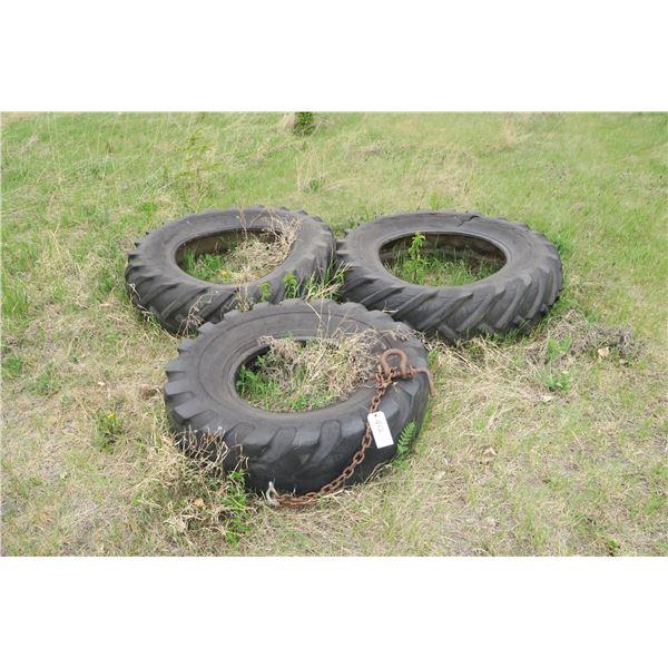 Tire drag leveller