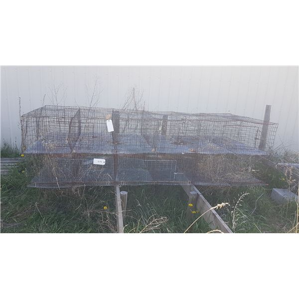 2 Rabbit Cages
