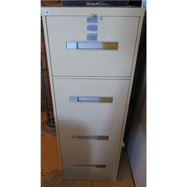 """Metal Filing Cabinet 51""""×19""""×28"""""""