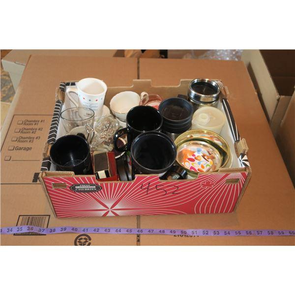 Lot Misc. Mugs/Dishware