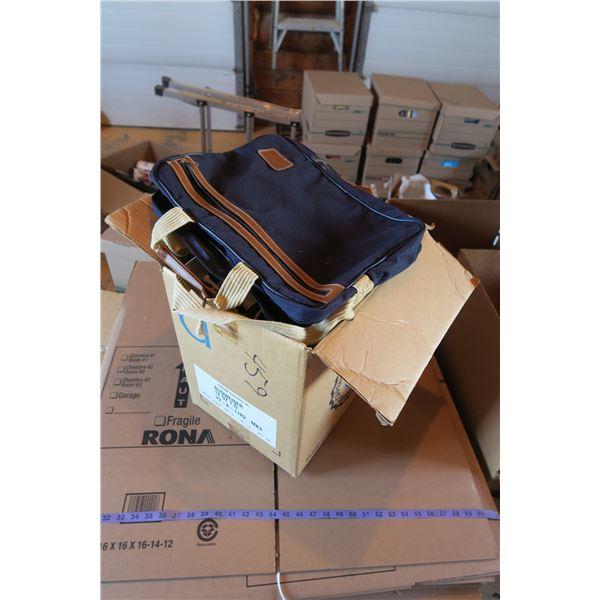 Lot bags: Laptop bags, handbags, etc.