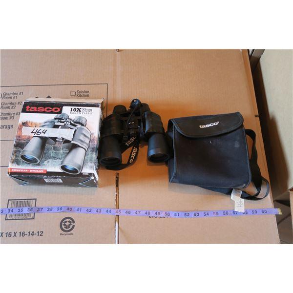 Tasco 10×50mm Binoculars & Case