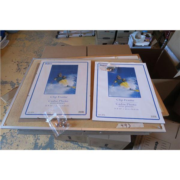 Whiteboard+ Corkboard + Frames, etc.
