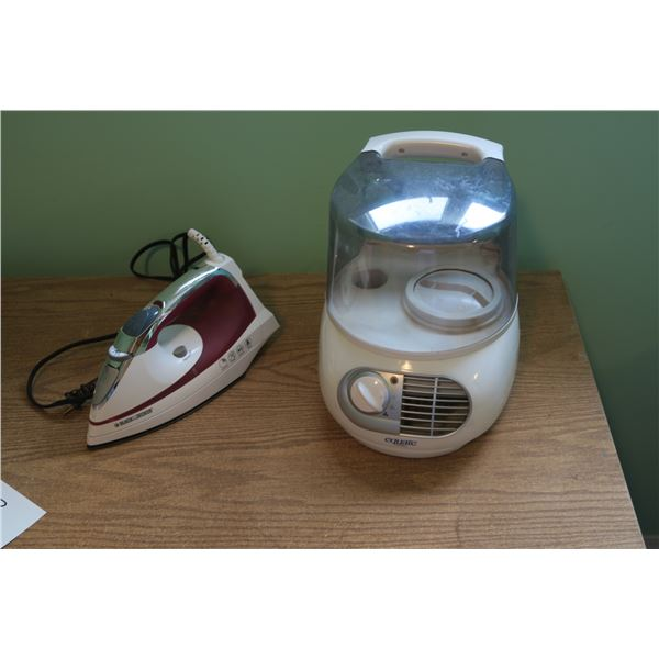 Iron + Humidifier
