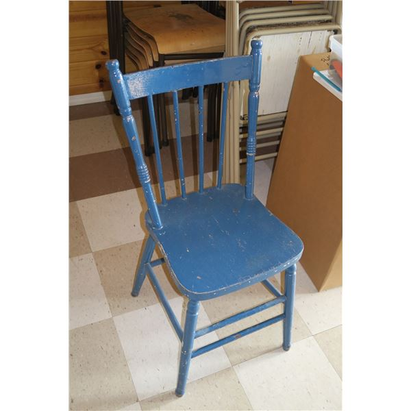 """Vintage Chair, seat height 18"""""""