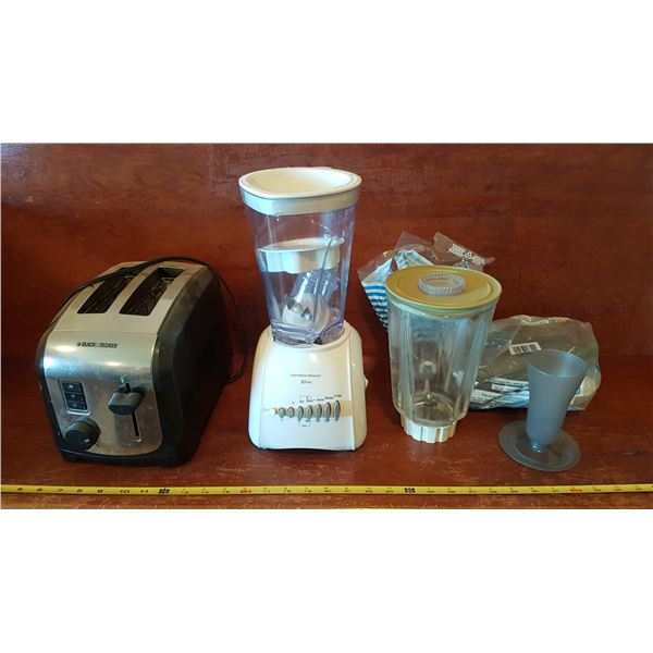 Blender & Toaster & Parfait Cups