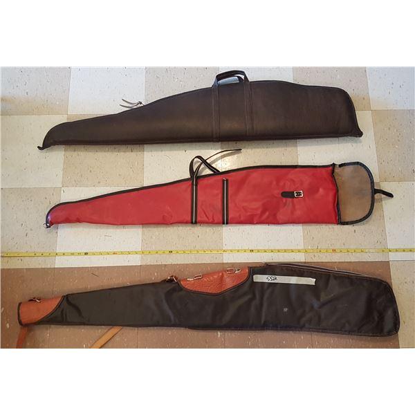3 Soft Gun Cases  (Zipper Damage)