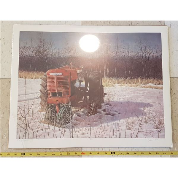 Farmall Tractor Print