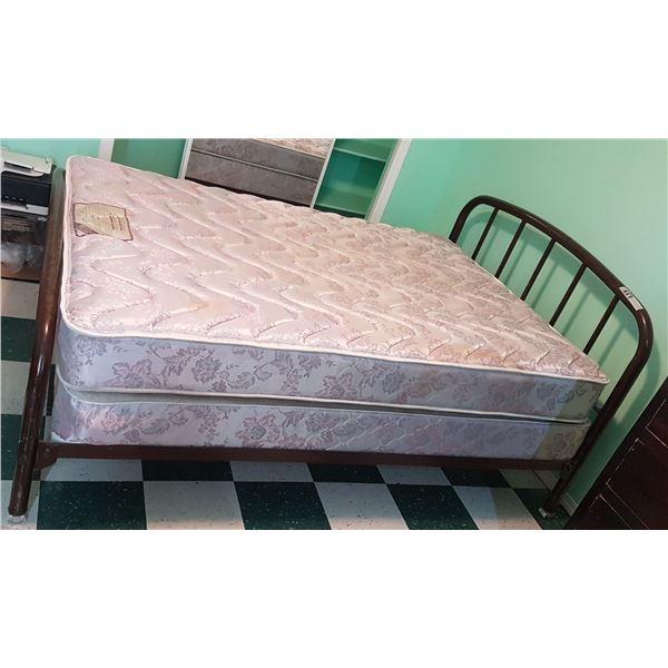 """Vintage Bed Frame 53"""" X 75"""""""