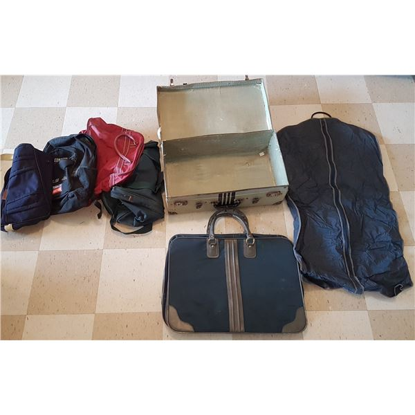 Vintage Suitcase & Portfolio & Various Bags
