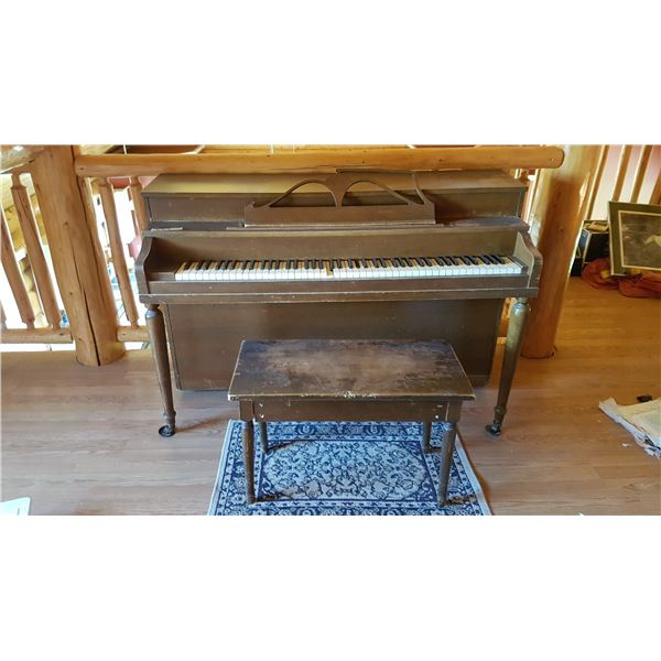 "Piano & Stool 58"" Wide"