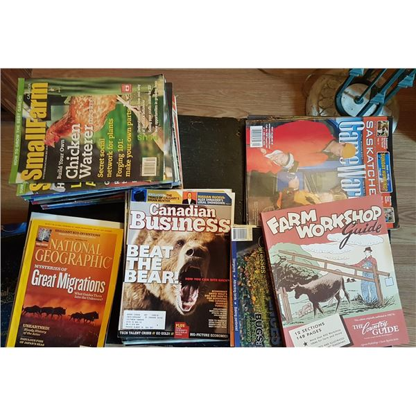 Lot Various Magazines