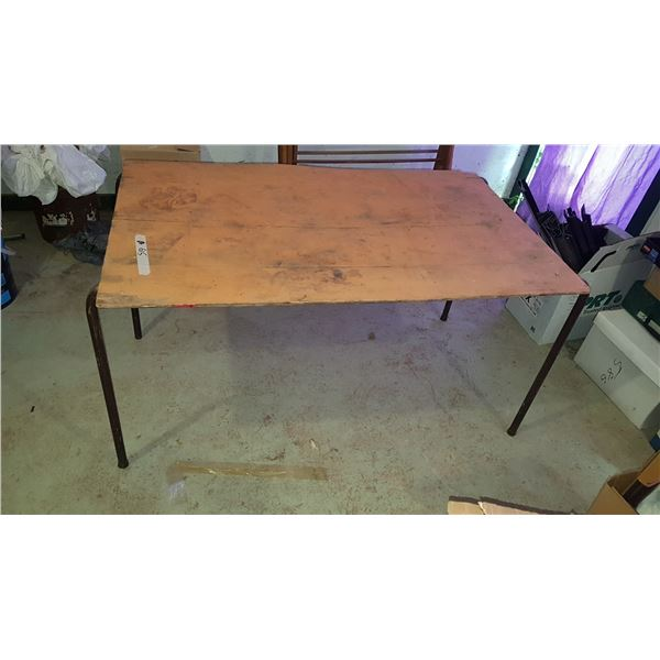 """Shop Table 30"""" X 48"""" (Top Loose)"""