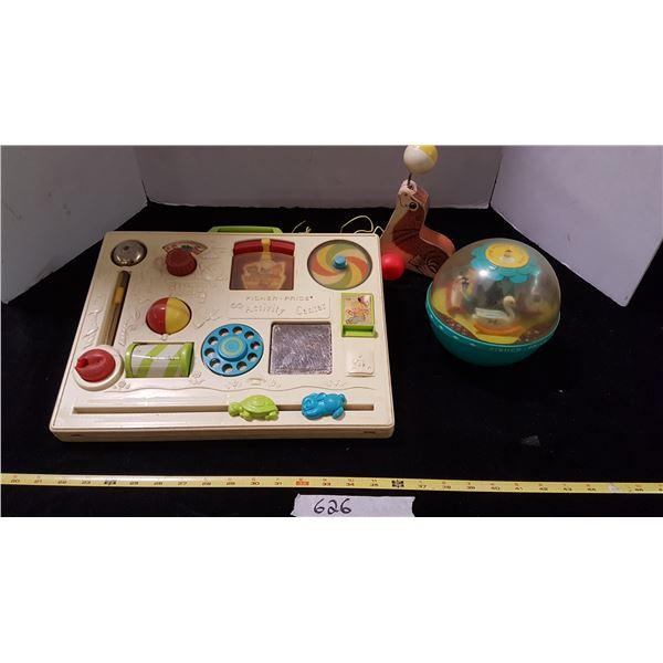 Lot Vintage Fisher Price Toys