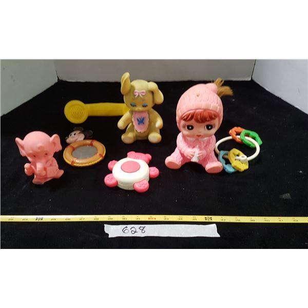 Lot Vintage Children's Toys