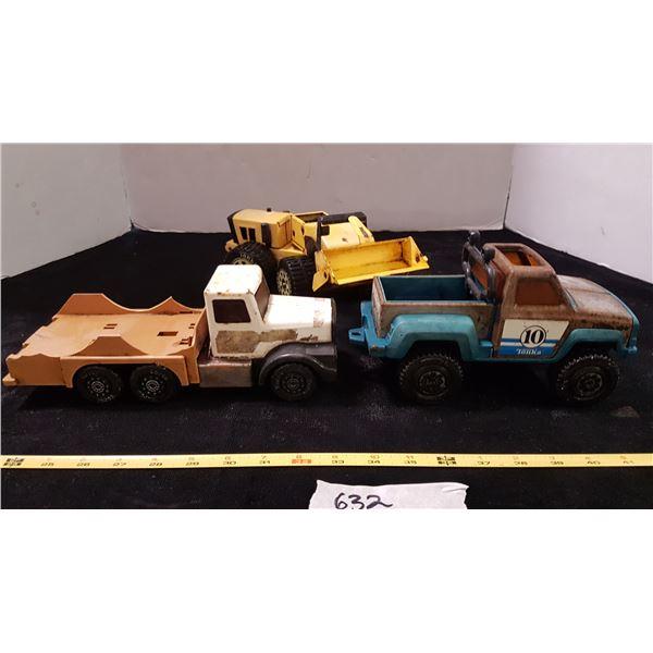 Tonka Loader & Toy Vehicles