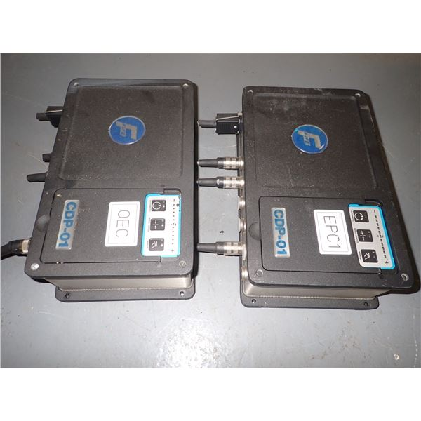 Lot of (2) FIFE #CPD-01-M Processor Controllers