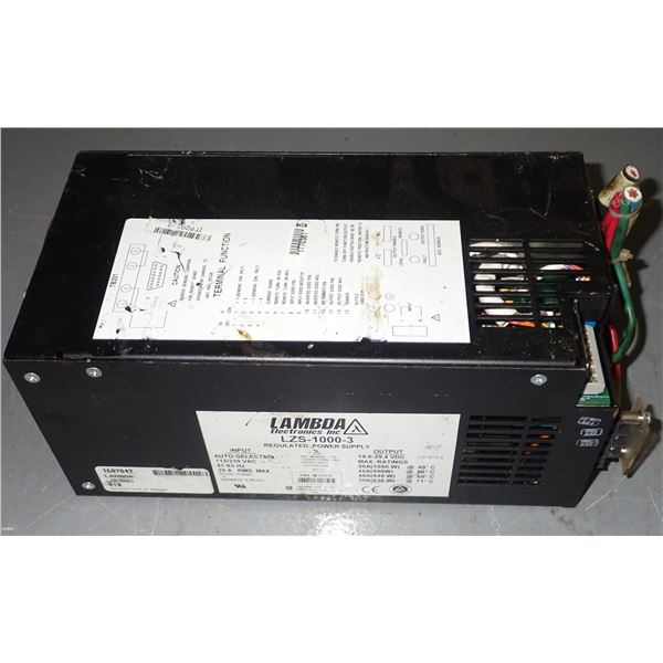 Lambda #LZS-1000-3 Power Supply