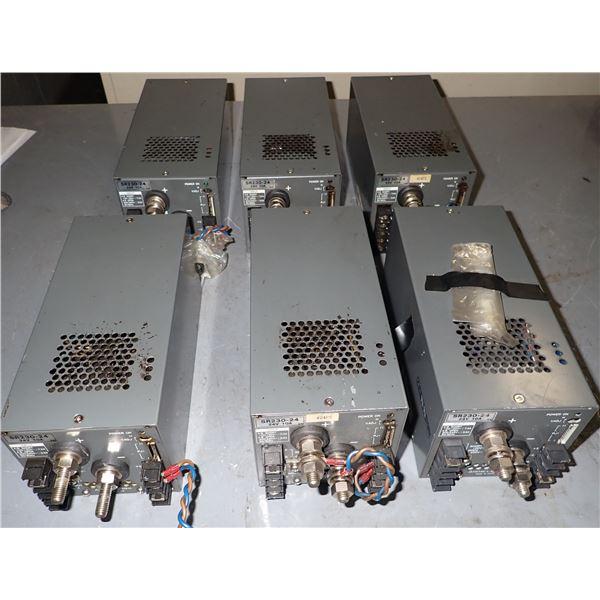Lot of (6) Lambda #SR230-24 Power Supplies