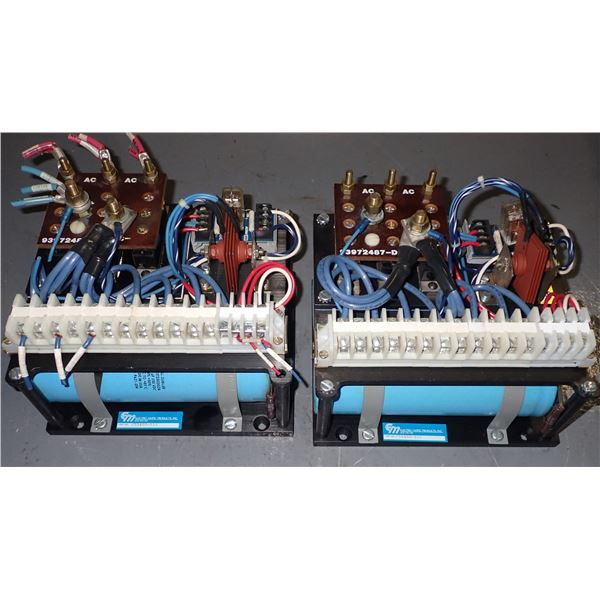 Lot of (2) Electro-Matic #C55400-033 Power Supplies