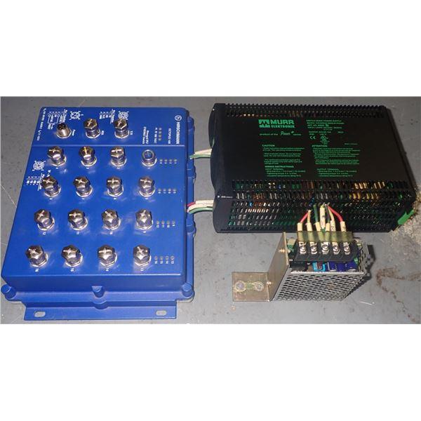 Hirschmann OCTOPUS 16M Switch + Misc