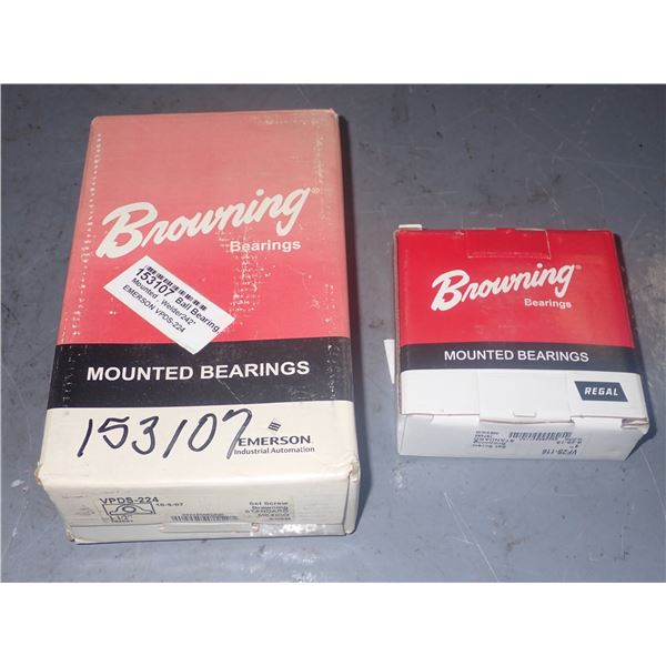 Browning #VPDS-224 & #VF2S-116