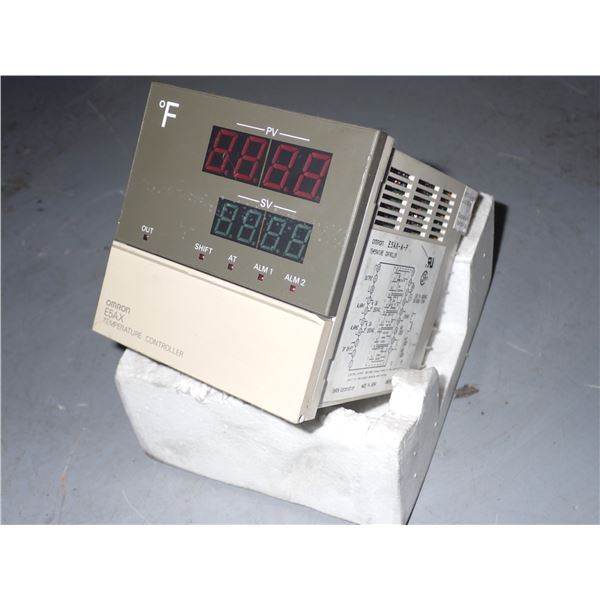Omron #E5AX-A-F Digital Temperature Controller