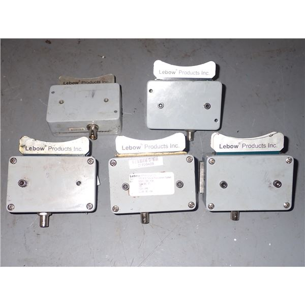 Lot of (5) LEBOW #TMS 900C Torque Measurement Systems