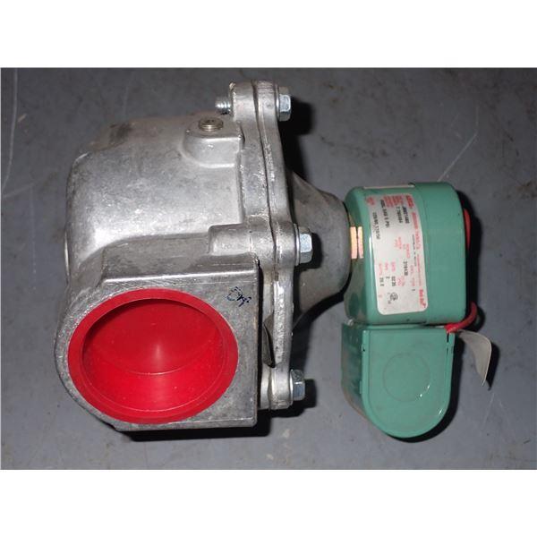 ASCO #JB821480 Fuel Gas Solenoid Valve