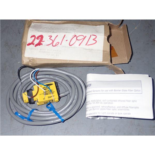 Banner #SM312F Fiber Optic Amplifier
