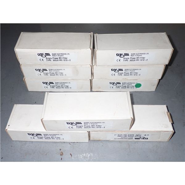 Lot of RASMI #3G3JV PFI 1010-E Line Filters
