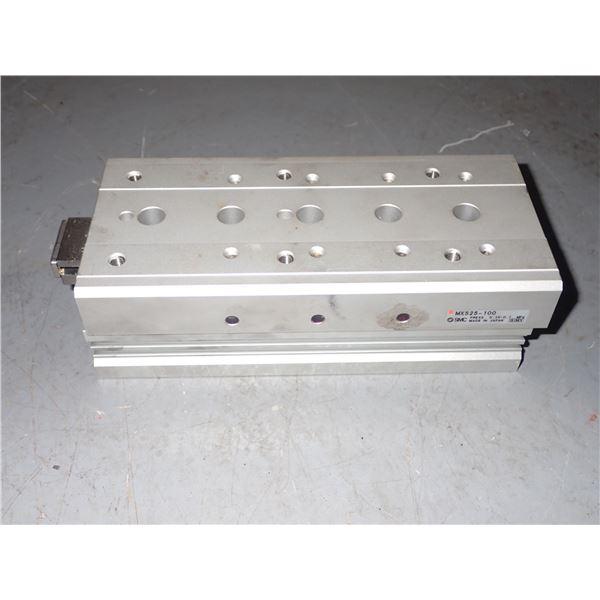 SMC #MXS25-100 Pneumatic Cylinder