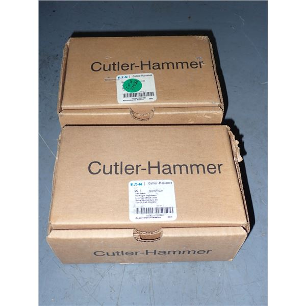 Lot of (2) Cutler Hammer Limit Switches
